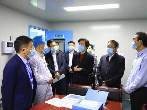 咸阳市长卫华调研市中心医院疫情防控工作