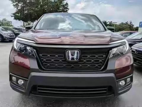 本田全新大7座SUV!被称大号皓影,搭3.5L V6,比汉兰达还气派