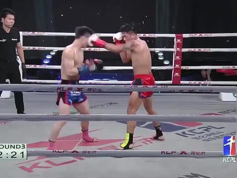昆仑决:猛将一拳的力量太大,对手抱头都防不住,还是被重重打倒