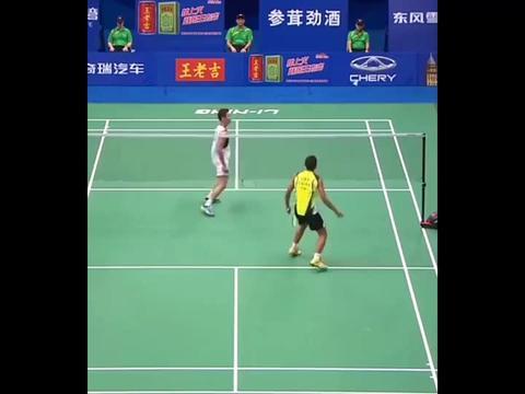 林丹羽毛球职业生涯最神奇的球