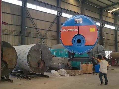 1吨燃气蒸汽锅炉  WNS1-1.0-QY型