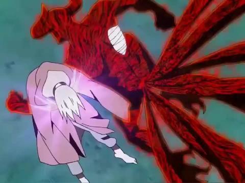 火影:鸣人VS长门  如果不是鼬神在,就是长门单方面碾压