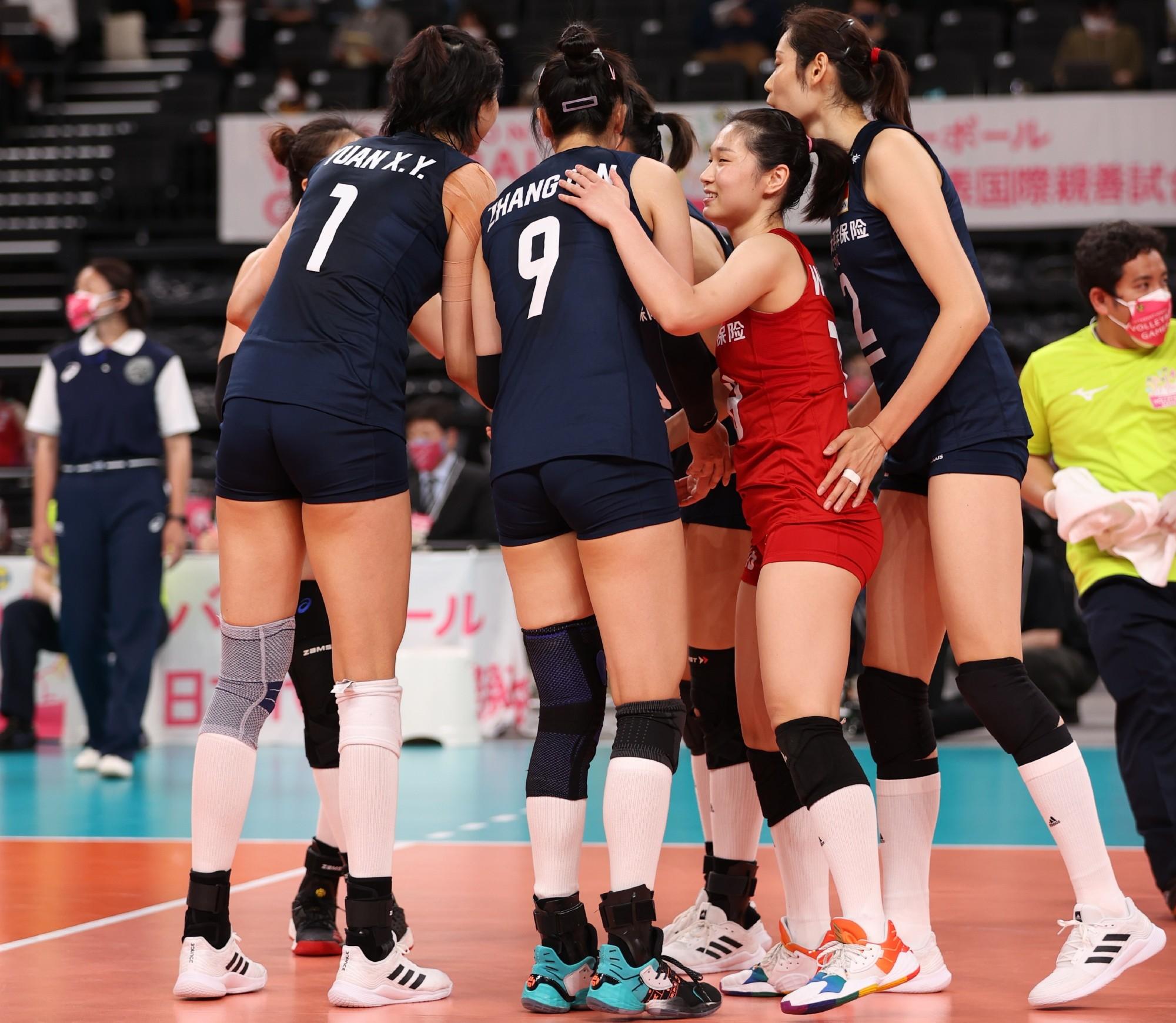 中国女排首秀并不完美,主二传丁霞暴露缺点,姚迪奥运位置稳了