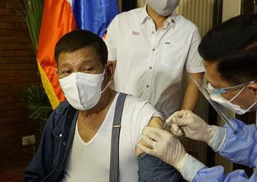 媒体称杜特尔特要退回中国的新冠疫苗,我驻菲大使:子虚乌有