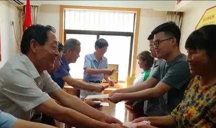 """乐善好施被称为""""福清哥""""记陕西闽发房地产开发公司总经理唐孝标"""