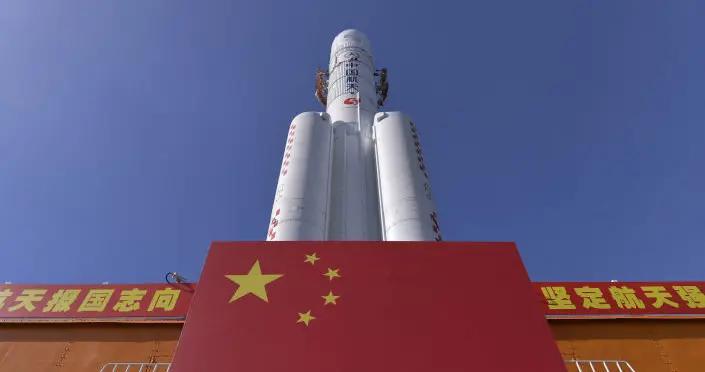 长征五号B运载火箭残骸绝大部分器件烧蚀销毁