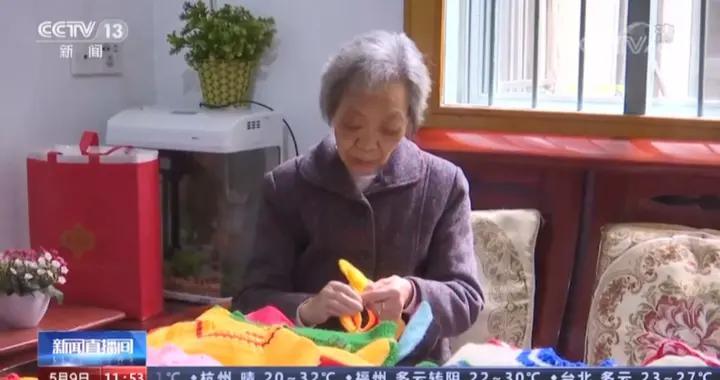 """萍乡""""毛衣奶奶""""上央视了!"""