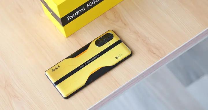 Redmi K40 李小龙特别版开箱图赏:那一抹黄,是儿时的梦想