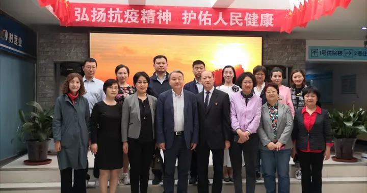 首都医科大学副校长、中国科学院院士王松灵一行莅临太原市二院指导工作