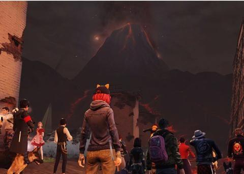 明日之后:新副本策划再度玩梗,火山大爆发还记得不?