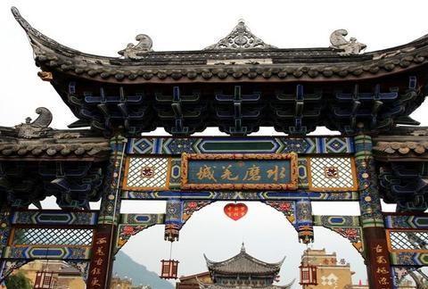 """汶川大地震后重建的古镇,被誉为""""长寿之乡"""",网友:想去取经"""