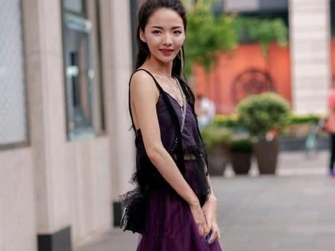 """""""紫霞仙子裙""""穿上后,美到词穷"""