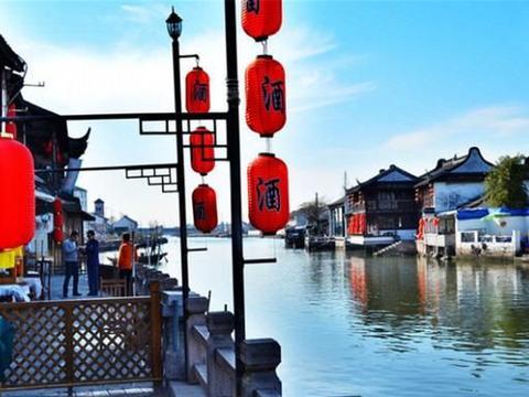上海继朱家角后,又一古镇走红,景色可媲美周庄,曾走出3位状元