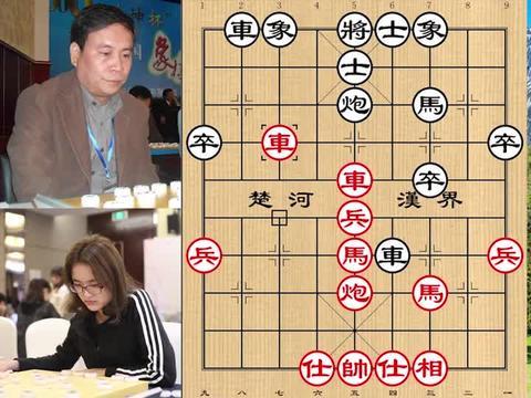 吕钦亮出硬核武器,走出一招价值40万的棋力斩象棋一姐