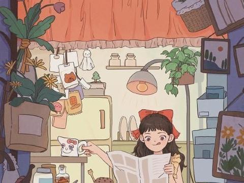 场景教程~想象中的小女孩杂货铺