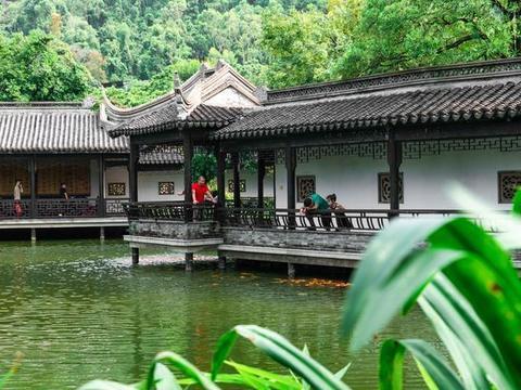 岭南有个值得一去的园林,融江南建筑与岭南建筑为一体