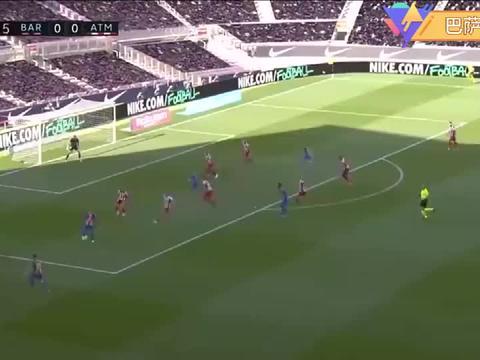 梅西长跪不起,登贝莱复制对利物浦的空门不入,巴萨夺冠悬了!