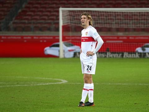 踢球者:斯图加特后卫博尔纳-索萨可能无法为德国队效力