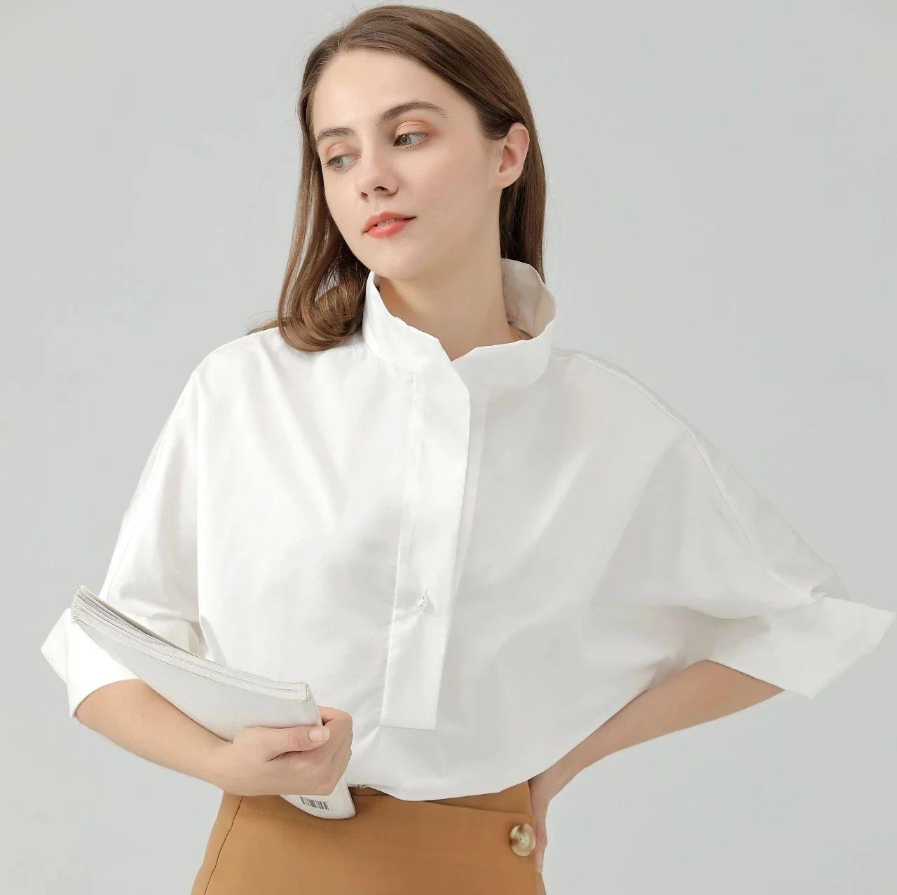 干净利落的白衬衫,不费力的高级感就靠TA!