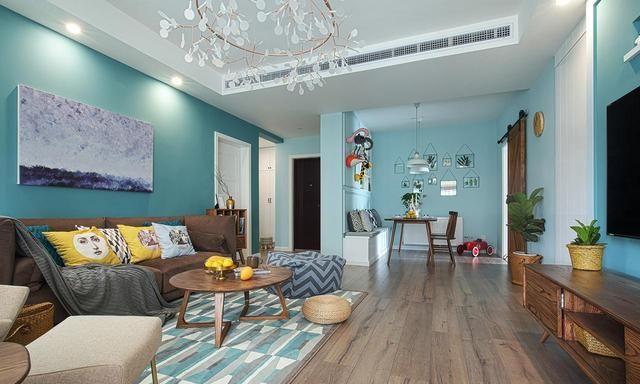 北欧风格的新家舒适有质感,有格调的装修设计,同事们都说喜欢