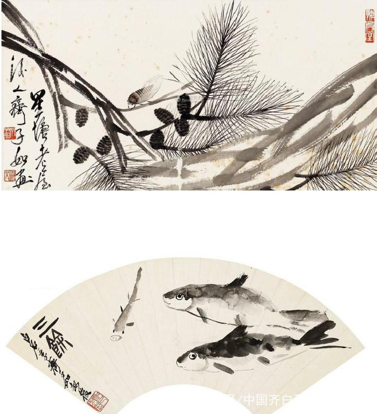 少白公子-汤发周分享:齐白石后代的画画的典范《齐子如作品选》
