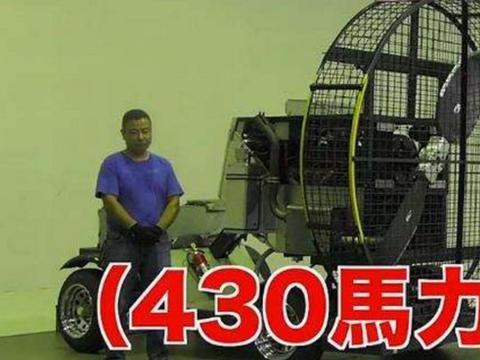 小伙模拟台风实验,轻松将成年人吹飞,事实证明胖是有好处的