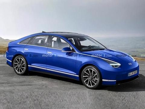 韩国旗舰电动车?现代全新纯电动轿车IONIQ 6硬扛特斯拉