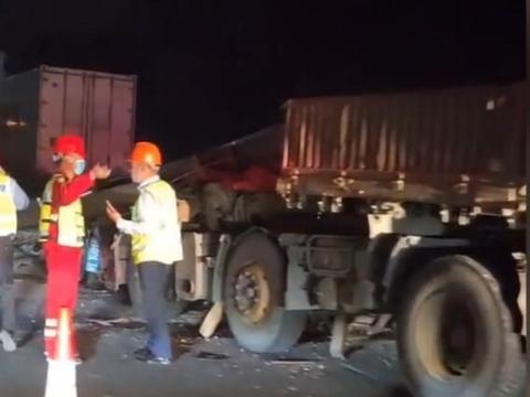 假期返程开车需谨慎!湖州一高速发生6车追尾事故,已致6死3伤