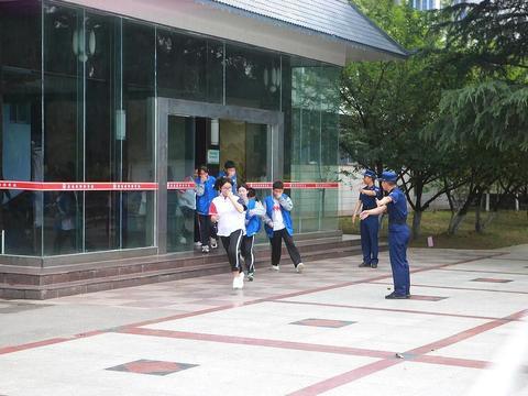 湖北省宜昌市夷陵区,消防宣传进校园,拉紧防灾减灾防线