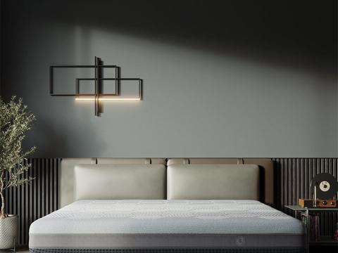 8H黑金刚超大口径弹簧床减压床垫体验:最值得入手的床上用品!