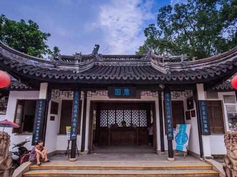 广东有一园林,把岭南风格与江南风情完美结合,青砖灰瓦尽显古韵