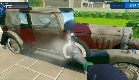解压游戏《强力清洗模拟器》登Steam商店 冲洗污垢、舒适度拉满