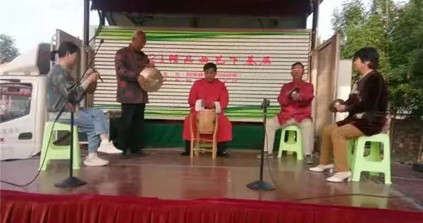 阳信县水落坡镇开展主题文化下乡活动