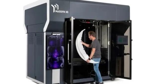 新工业级大型3D打印机将提速30倍