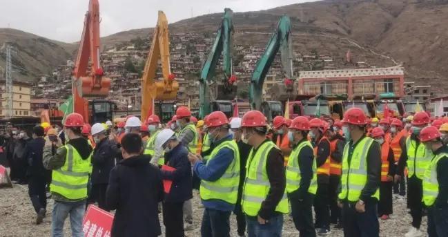 总投资8.48亿元,炉霍县举行2021年项目开工仪式