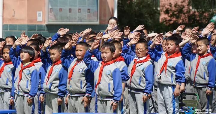"""晏家坪第二小学""""童声颂党""""艺术节开幕"""