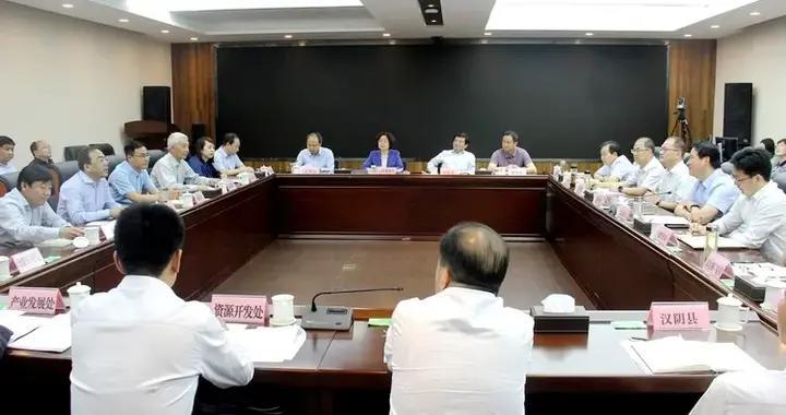 陕西省文化和旅游厅党组书记高阳会见安康市市长赵俊民一行