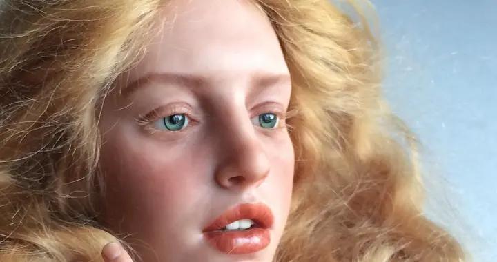 艺术家扎伊科夫:逼真的娃娃脸,会让你起鸡皮疙瘩