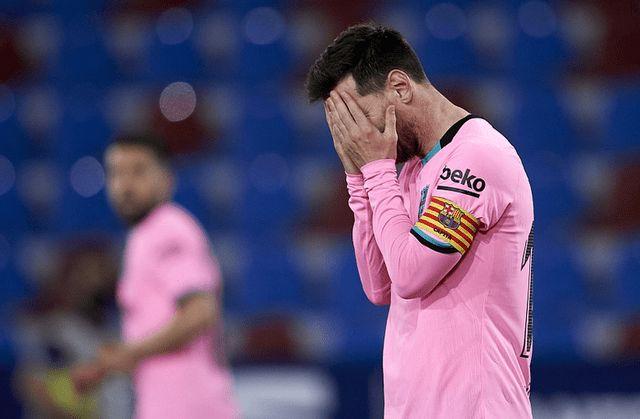 终于明白为什么巴塞罗那客场战平莱万特,看完分析,豁然开朗