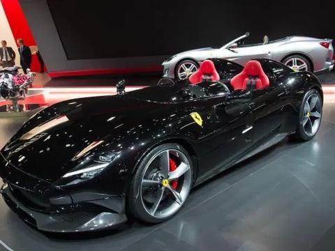 太阳报:C罗140万镑购入法拉利-蒙扎,其收藏豪车价值达1700万镑