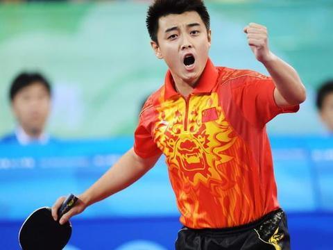 他曾和王皓齐名,世乒赛错失3个赛点,遭刘国梁掌掴从此再无机会