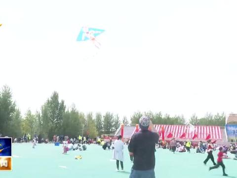 """我县举办首届""""博汇.博雅""""杯亲子风筝节活动"""