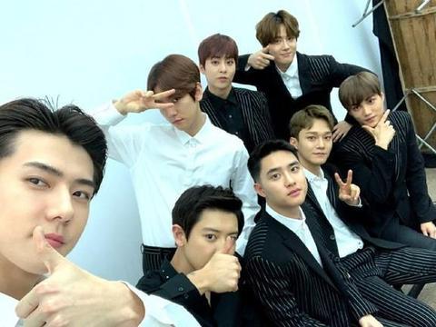 EXO回归预告!预告中九个光点,张艺兴会加入这次回归吗?