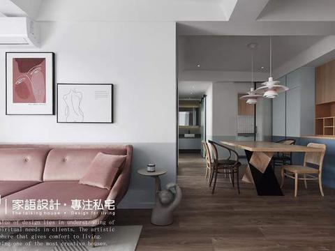 一个人的独居,现代北欧混搭日式风格,和喜欢的一切生活在一起