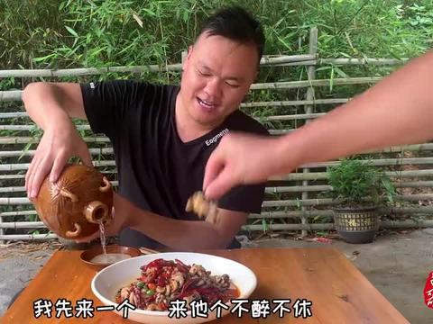 在农村,吃了几十年八爪鱼,头一次见这种做法,真是高手在民间