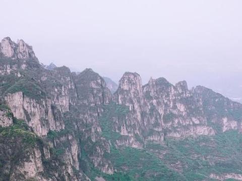 王莽岭,可以欣赏太行风景的好地方,来晋城可以来看看