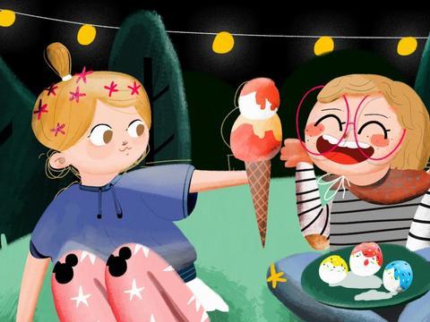 孩子总是感冒,可能是冰淇淋惹的祸