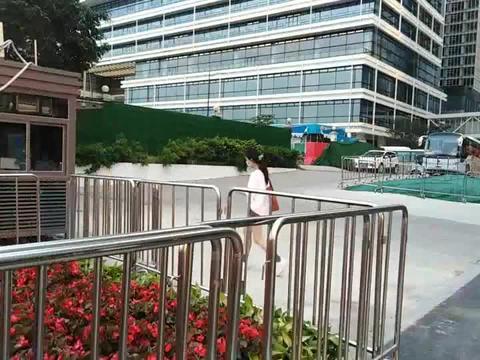 阿里巴巴广州总部,进去这里上班,钱不钱无所谓主要是不想还花呗