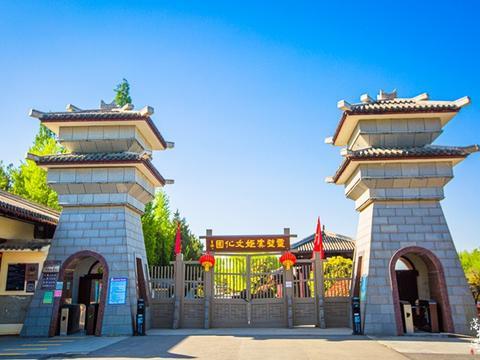 """安徽宿州有一座文化园,风景秀美,这里有""""霸王别姬""""的感人故事"""