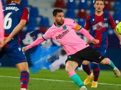 从2-0到3-3,巴萨退出争冠行列,梅西破门难救主,马竞皇马受益